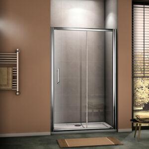 Sliding Shower Door Enclosure WalkIn Cubicle 6mmGlass /8mm EasycleanGlass Screen