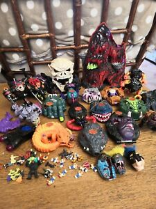 HUGE Vintage 90's MIGHTY MAX Bundle /Job Lot Bluebird Toys with Extras 💀