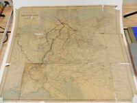 Eisenbahn-Uebersichtskarte Deutschland 1904 zum Reichs-Kursbuch K-1799