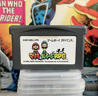 Mario & Luigi Superstar Saga RPG Nintendo Game Boy Advance GBA Japan Authentic