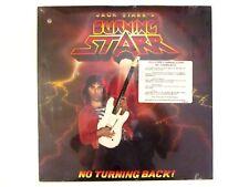 JACK STARR'S BURNING STARR NO TURNING BACK! LP ORIG. 1986 SEALED VIRGIN STEELE