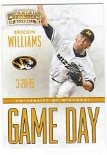 2015 Panini Contenders Baseball Game Day Tickets #8 Breckin Williams