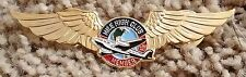 MILE HIGH CLUB MEMBER WINGS LAPEL PIN