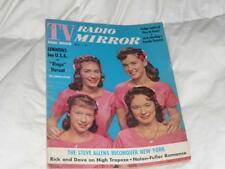 TV RADIO MIRROR MAGAZINE / MAY 1960 / DAVID & RICKY NELSON / MICHAEL LANDON