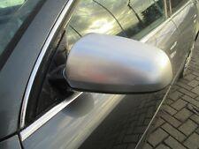 el. Außenspiegel links Audi A4 B6 8E S-Line Spiegel silber alu matt