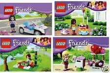 4x Lego Friends Exklusive Sets 30103 30105 30107 30108 Stephanie Emma Mia Andrea