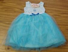 Beautees Girls' Tutu Dress-AQUA CROWN-2T-NWT