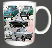 ADD YOUR OWN REG FOR FREE AUSTIN 3 LITRE SALOON CLASSIC CAR MUG LIMITED EDITION