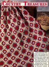 COUNTRY Granny Square Afghan/Crochet Pattern Instructions