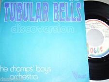 "7"" Champs Boys Orchestra / Tubular Bells & Fleur - France Cosmic Disco # 1812"