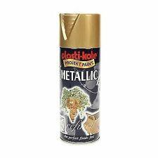 Plastikote Pkt620 Metallic Spray Gold 400ml
