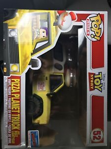 Funko Pop Rides Toy Story #52 Pizza Planet Truck/Buzz Lightyear NYCC Sticker