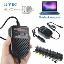 80w Universal Laptop Car Charger Travel Adapter 12v Dell HP Toshiba Sony Acer