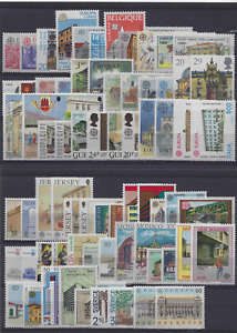 1990 EUROPA CEPT complete year set MNH