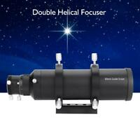 60mm Double Helical Focuser Guide Scope Finderscope for Astronomical Telescope H
