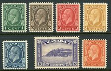 Canada 1932 Commemorative Pictorial Set Scott # 195-201 Mint H579