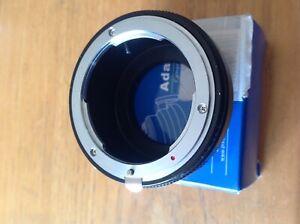 N/G-M4/3 Lens adapter
