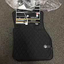 Rubber Mat Set Front Genuine Mini All Weather F60 Countryman 51472447607 RHD
