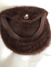 Ladies Kangol Brown Wool Hat Size Medium