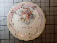Vintage Advertising Plate Strum, WI Robbe & Myhers  Trempealeau