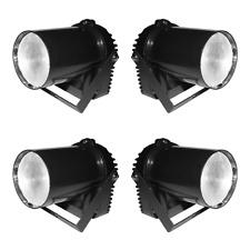 4x Ibiza LEDSPOT5 LED Pinspot 5W Narrow Beam Angle Mirrorball Spotlight Spot DJ