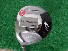Nicklaus Golf Airmax DPT 3 Wood 15 Degree Fujikura SG Stiff Flex Shaft Left Hand