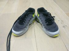 Nike Air Max Kids Size 10 Grey & Yellow Used Good Cond.