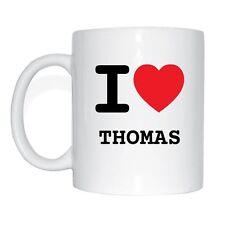 me encanta Thomas Taza de café
