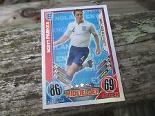 Match Attax euro 2012 Scott Parker Inglaterra Edición Limitada Como Nuevo