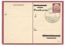 Germany Mi #P244 Postal Card Luxemburg Cancel August 26, 1943