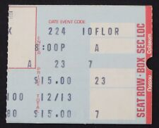Pink Floyd The Wall February 24, 1980 Ticket Stub~Nassau County Coliseum