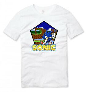 Sonic The Hedgehog Gaming T Shirt White