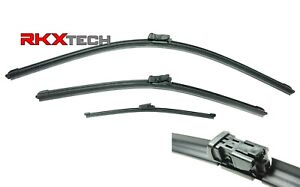 RKX Front + Rear Windshield Wiper Blade set 24+19+13 FOR VW GTI Rabbit R32