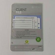 Franklin Covey 7 Ring Refill Pack 5 12 X 8 12 Client File Classic Size