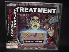 THE TREATMENT Generation Me + 1 JAPAN CD Motley Crue Steel Panther Kiss New Devi