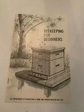 1975 Beekeeping For Beginners US Department Of Agriculture Booklet