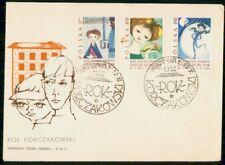 MayfairStamps Poland 1962 Janusz Korczak First Day Cover WWG8071