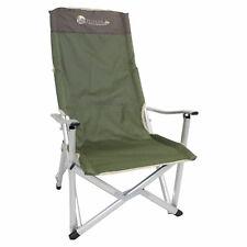Camping Klappstuhl Deluxe bis 150kg - Anglerstuhl, ideal auch für Festivals