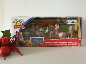 🎅🌴MATTEL DISNEY PIXAR TOY STORY KEN AND BARBIE GIFT PACK - HAWAIIAN VACATION