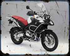 Bmw R 1200 Gs Adventure Special 3 A4 Metal Sign Motorbike Vintage Aged
