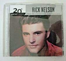 The Best Of Rick Nelson 20th Century Masters Millennium Collection / CD