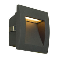 SLV 233605 DOWNUNDER OUT LED S Recessed Wall Light, Anthracite, SMD LED 3000K