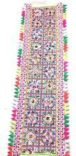 "Hmong PAJ NTAUB Fabric Beautiful Colorful TRIM Pattern Handmade 13"" x 4"""