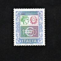 FRANCOBOLLO REPUBBLICA ITALIANA 2002 ALTI VALORI ORDINARI €1,00 NUOVO MNH