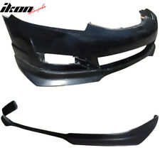 Fits 09-11 Honda Civic Coupe EVO Style Front Bumper Lip Spoiler - Urethane PU