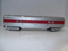K-Line Streamliner Santa Fe Baggage Passenger Car  Illuminated
