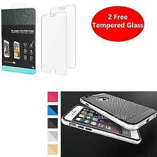 De Lujo Ultra Delgada de parachoques cubierta rígida cubierta trasera Apple Iphone 8 7 Plus 6s se 5