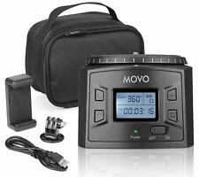 Movo MTP-20 Programmable Time-Lapse Tripod Head for DSLR Camera, GoPro, Phone