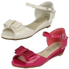 Calzado de niña sandalias de color principal blanco sintético
