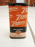 ZENITH CAN TUBES # 12SF5G vintage Long Distance Radio Tube, new sealed NOS